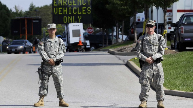 Amid protest in Ferguson, guardsmen rescued flag - U.S. - Stripes